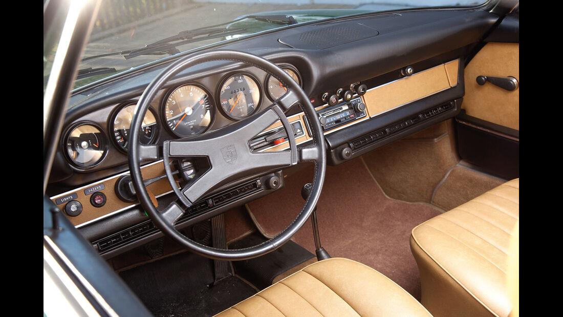 Porsche 911 T 2.4, Cockpit