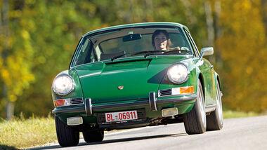 Porsche 911 T 2.4, Frontansicht