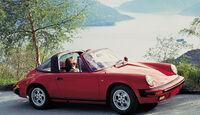 Porsche 911 Targa 3.2, Seitenansicht