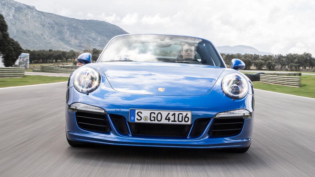 Porsche 911 Targa 4 GTS, Frontansicht