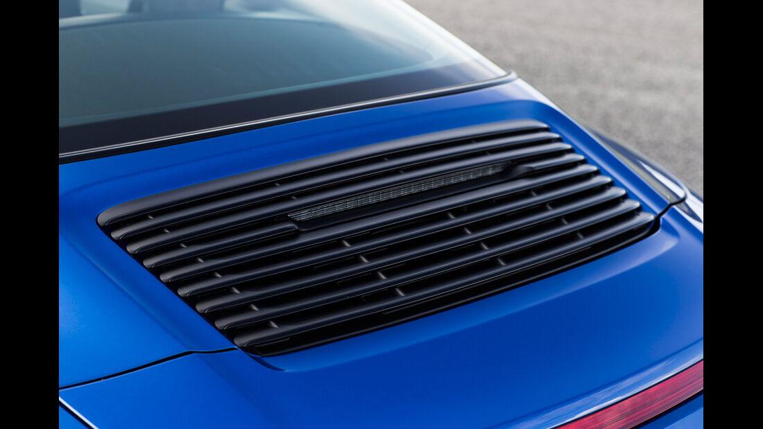 Porsche 911 Targa 4 GTS, Heck
