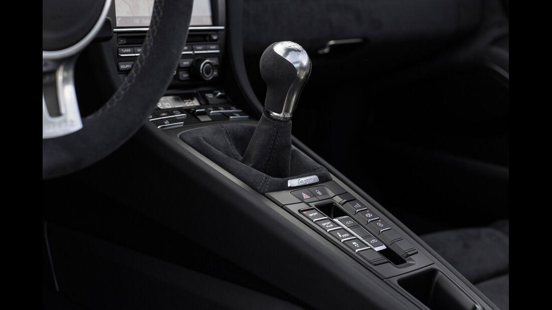 Porsche 911 Targa 4 GTS, Schalthebel