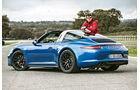 Porsche 911 Targa 4 GTS, Seitenansicht, Stefan Helmreich