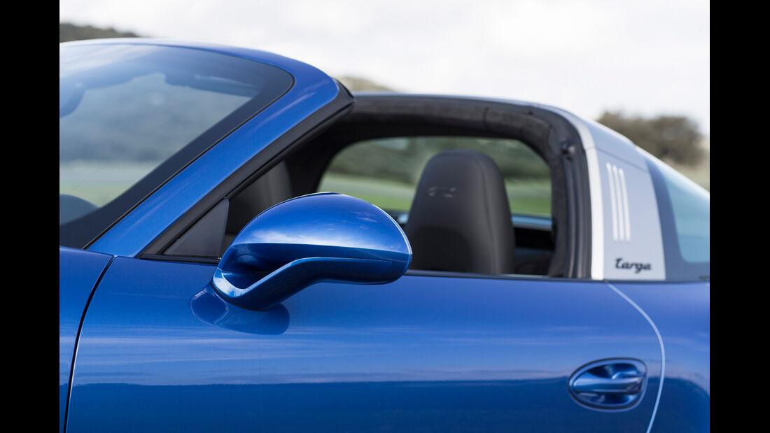 Porsche 911 Targa 4 GTS, Seitenspiegel