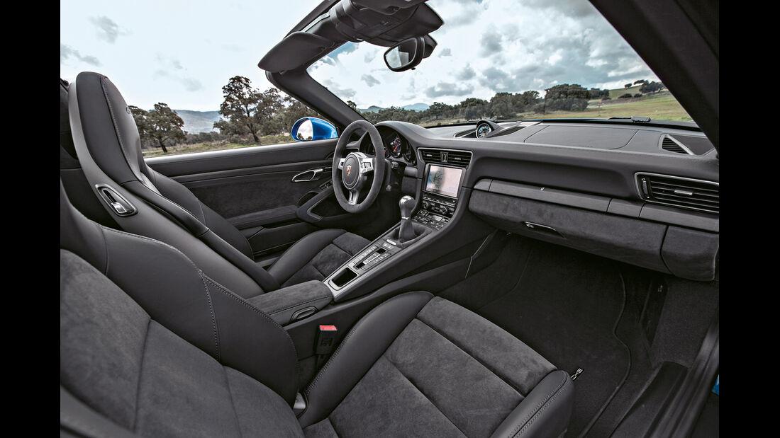Porsche 911 Targa 4 GTS, Sitze
