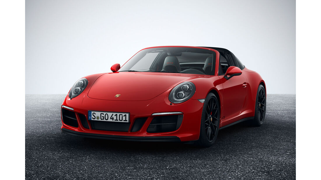 Porsche 911 Targa 4 GTS - Sportwagen - Turbo - Heckmotor - Innenraum