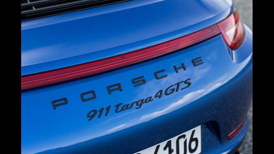 Porsche 911 Targa 4 GTS, Typenbezeichnung