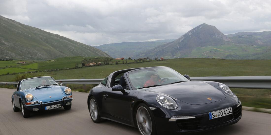 Porsche 911 Targa 4S, 911 S 2.2 Targa, Frontansicht
