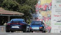Porsche 911 Targa 4S, 911 S 2.2 Targa, Heckansicht