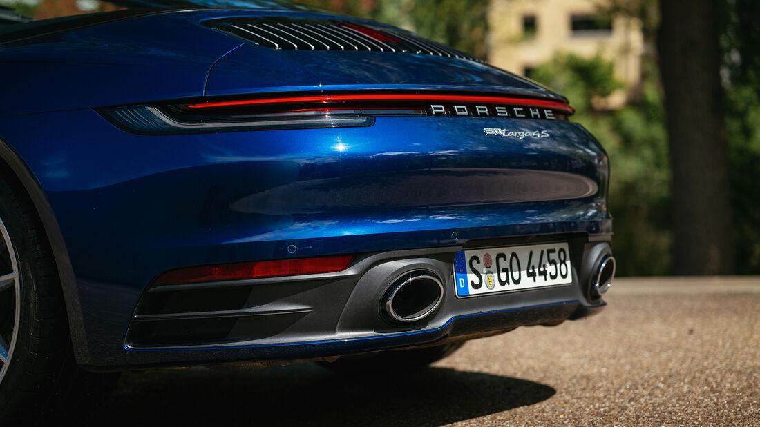 Porsche 911 Targa 4S, Exterieur