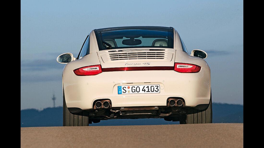 Porsche 911 Targa 4S, Heck