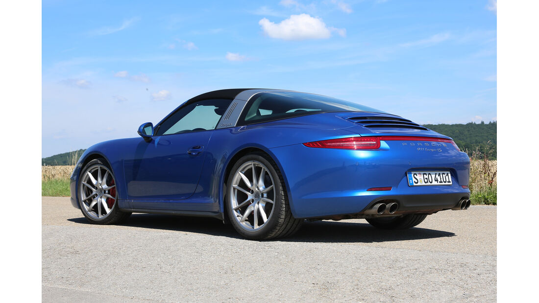 Porsche 911 Targa 4S, Heckansicht