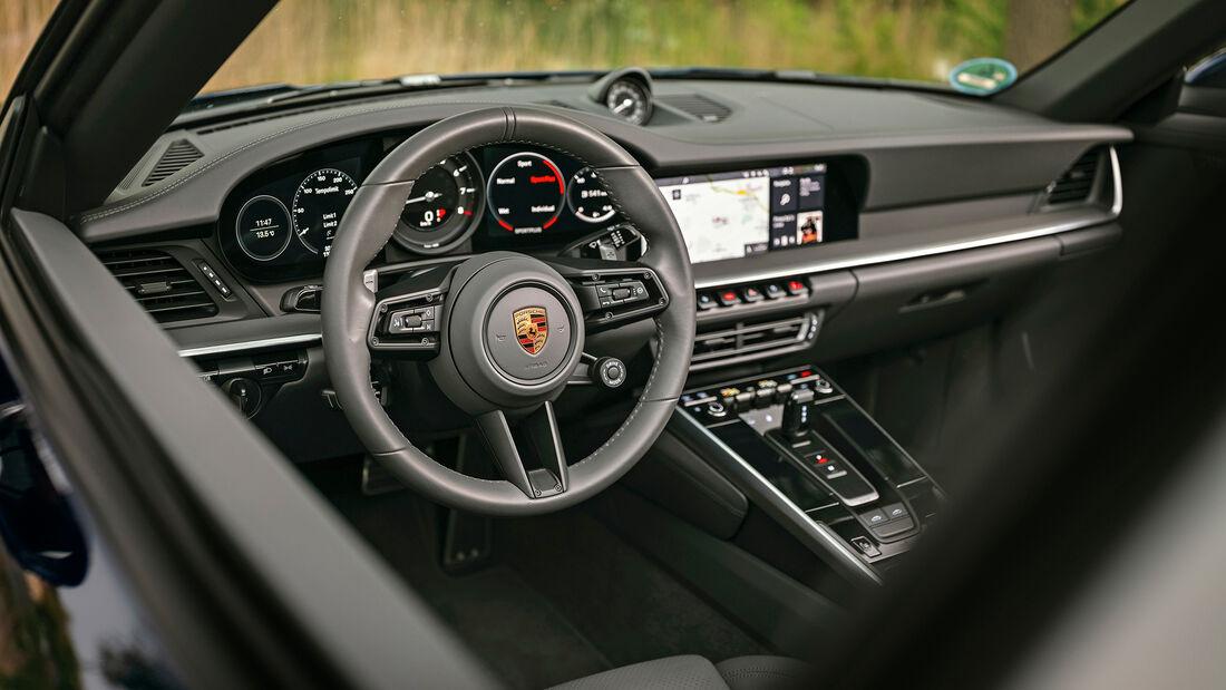 Porsche 911 Targa 4S, Interieur