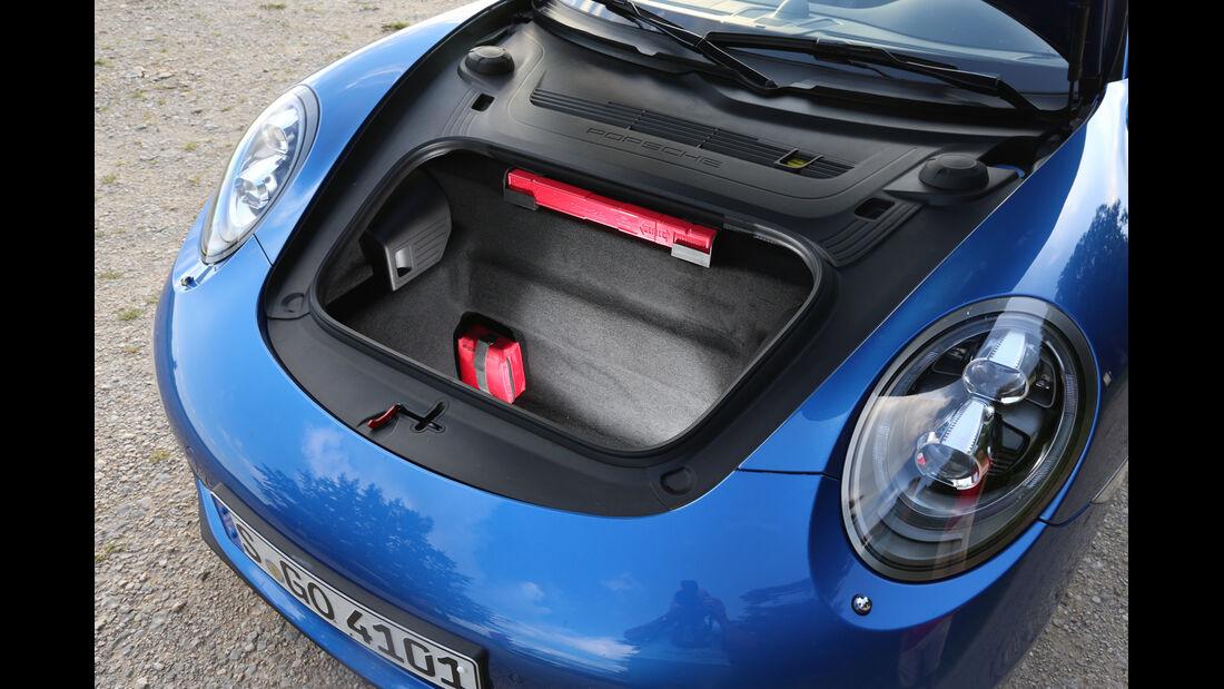 Porsche 911 Targa 4S, Kofferraum