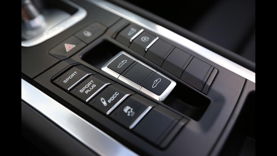 Porsche 911 Targa 4S, Mittelkonsole, Bedienelemente