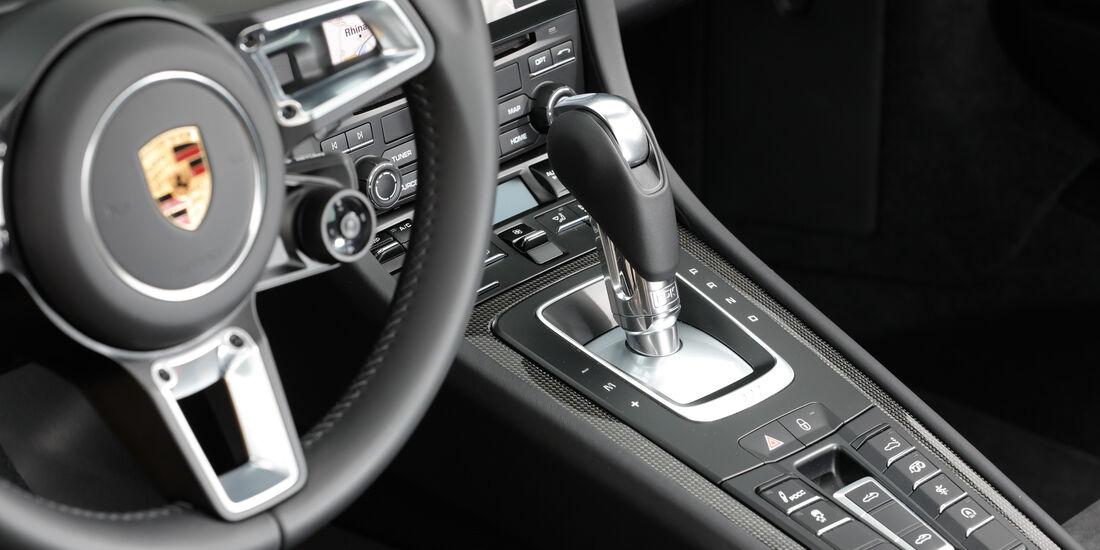 Porsche 911 Targa 4S, Mittelkonsole