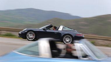 Porsche 911 Targa 4S, Seitenansicht