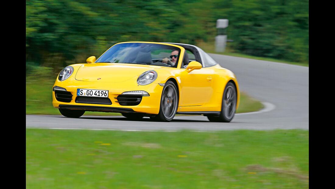 Porsche 911 Targa 4S, Sportwagen, sport auto 10/2014