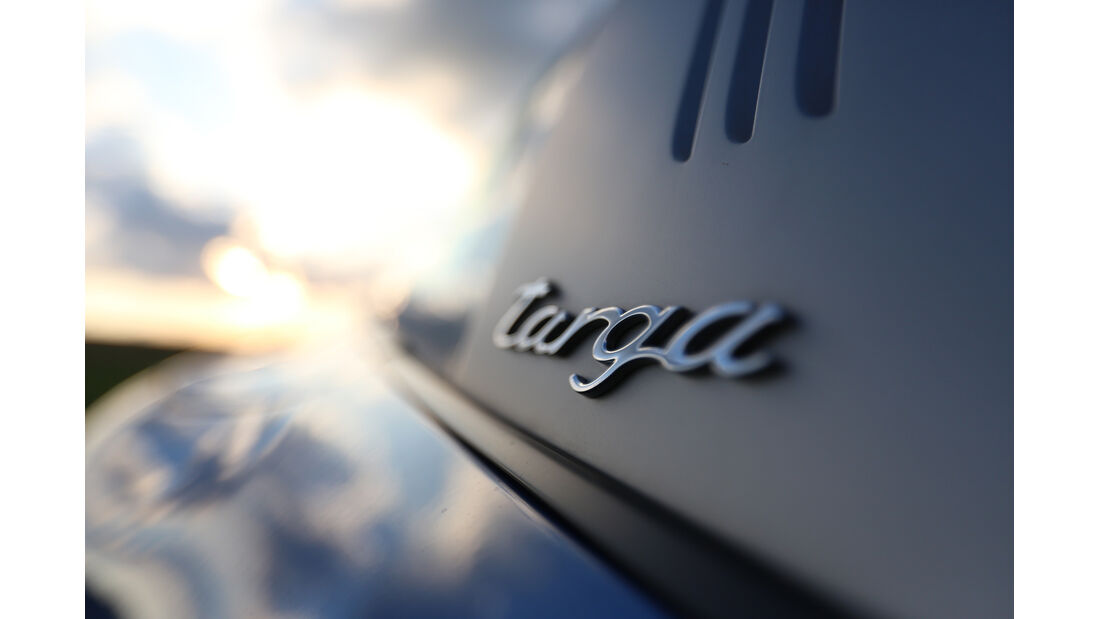 Porsche 911 Targa 4S, Typenbezeichnung