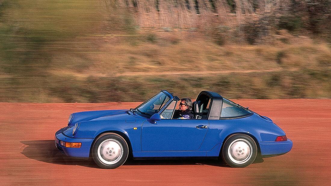 Porsche 911 Targa, 964, Seitenansicht