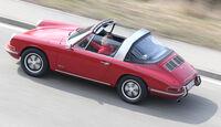 Porsche 911 Targa, Draufsicht
