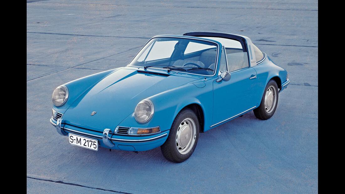 Porsche 911 Targa, F-Modell, Frontansicht
