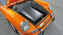 Porsche 911 Targa, F-Modell, Kofferraum, Targadach