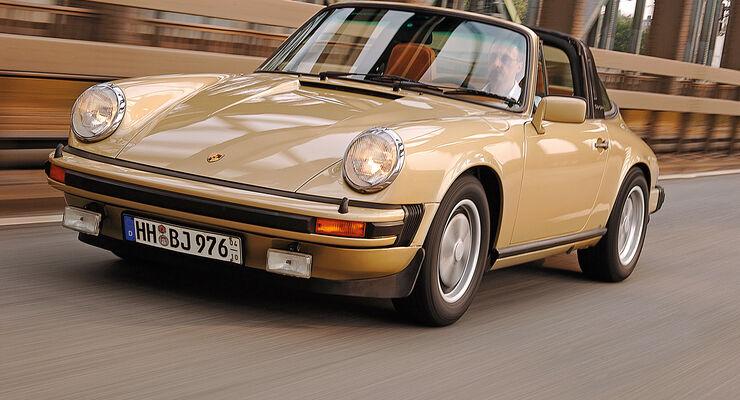 Porsche 911 Targa, Frontansicht