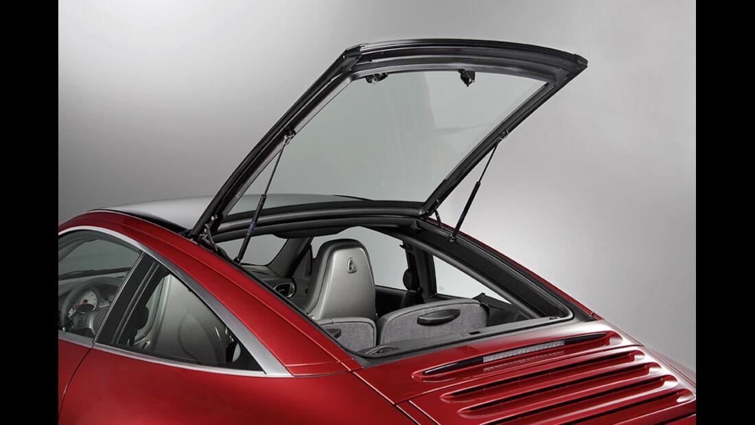 Porsche 911 Targa, Heck