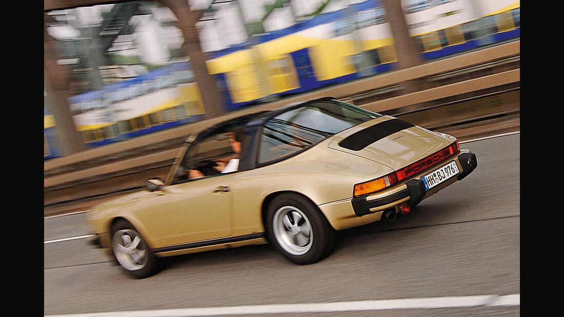 Porsche 911 Targa, Heckansicht