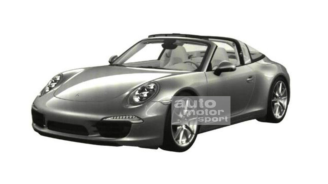 Porsche 911 Targa Patentamt