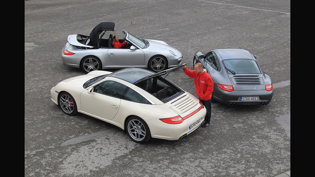 Porsche 911 Targa, Porsche 911 Cabrio, Porsche 911