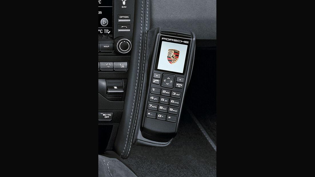Porsche 911, Telefon