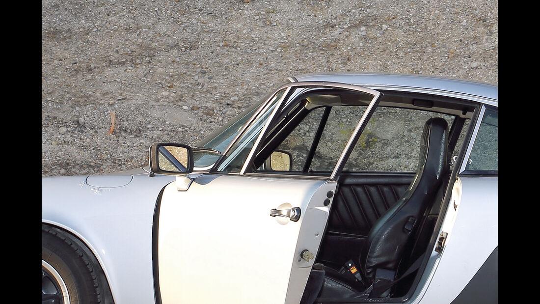 Porsche 911, Türdichtung
