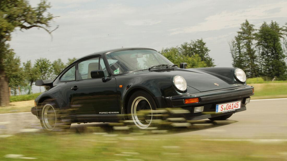 Porsche 911 Turbo 3.3, Frontansicht