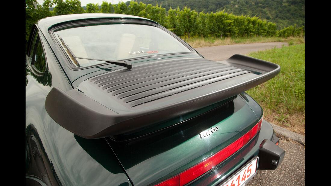 Porsche 911 Turbo 3.3, Heckspoiler