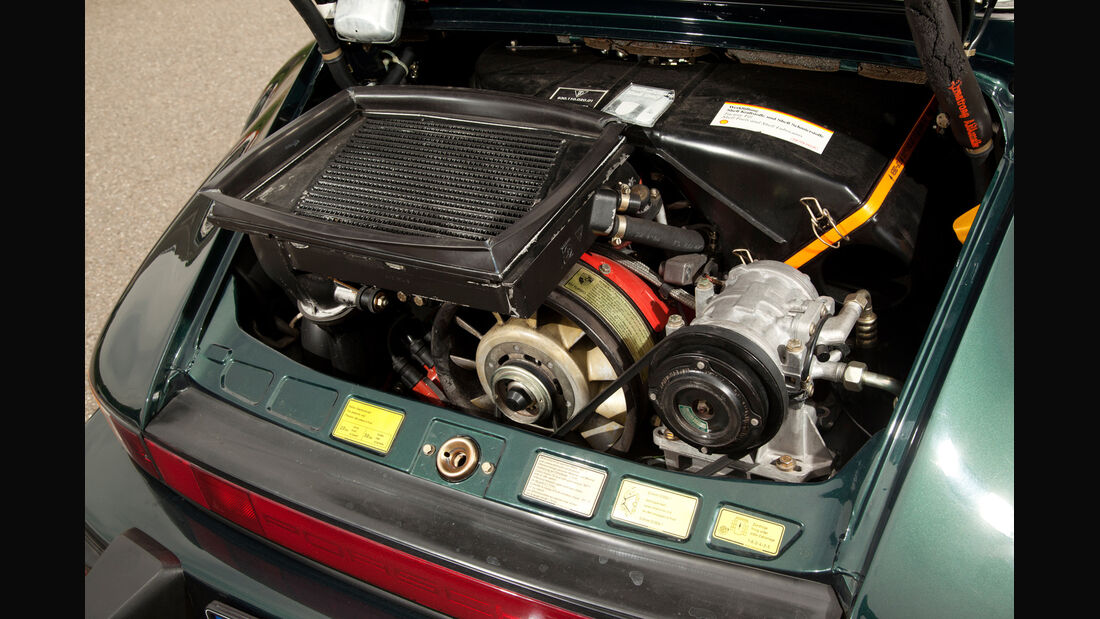 Porsche 911 Turbo 3.3, Motor