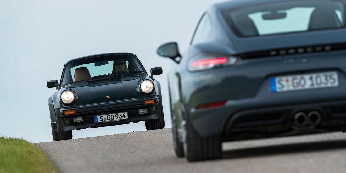 Porsche 911 Turbo 3.3 - Porsche 718 Cayman - Sportwagen