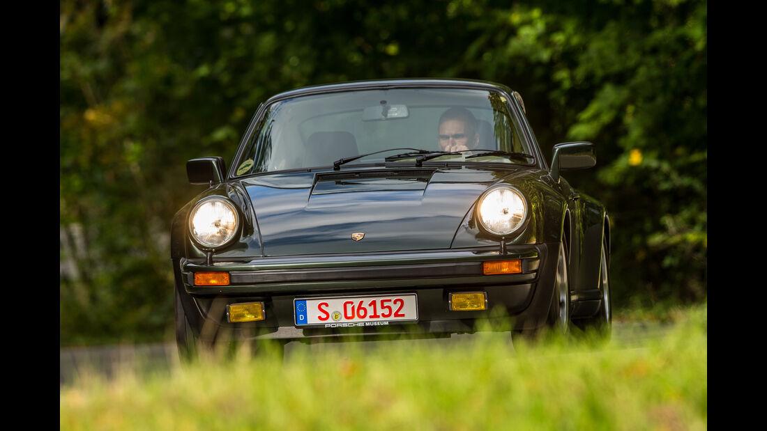 Porsche 911 Turbo (930), Frontansicht