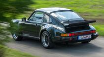 Porsche 911 Turbo (930), Heckansicht