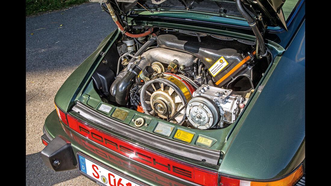 Porsche 911 Turbo (930), Motor