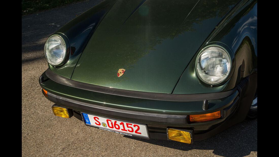 Porsche 911 Turbo (930), Motorhaube
