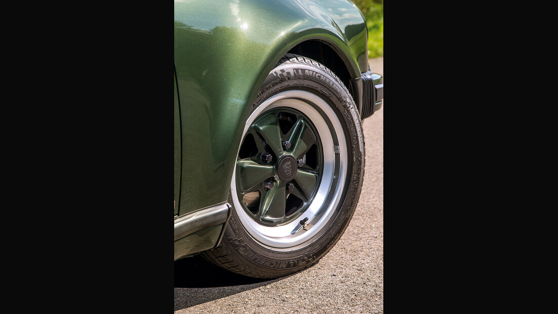 Porsche 911 Turbo (930), Rad, Felge