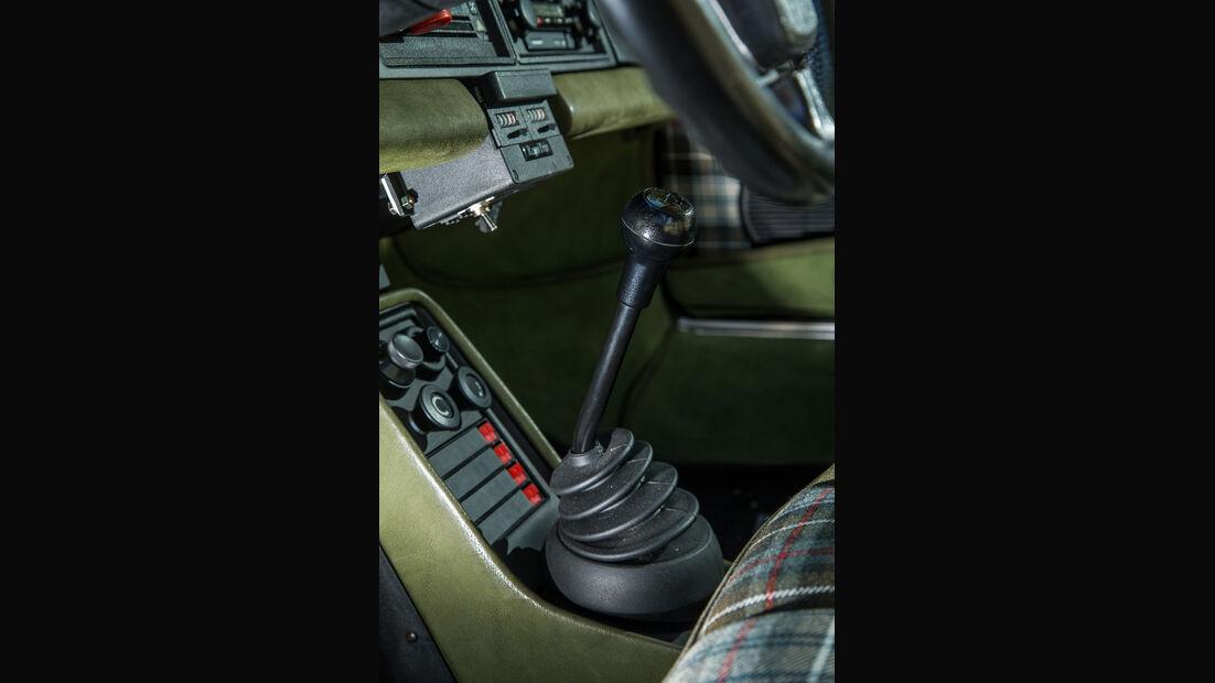 Porsche 911 Turbo (930), Schalthebel