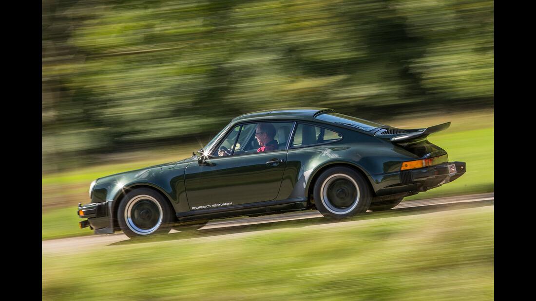 Porsche 911 Turbo (930), Seitenansicht