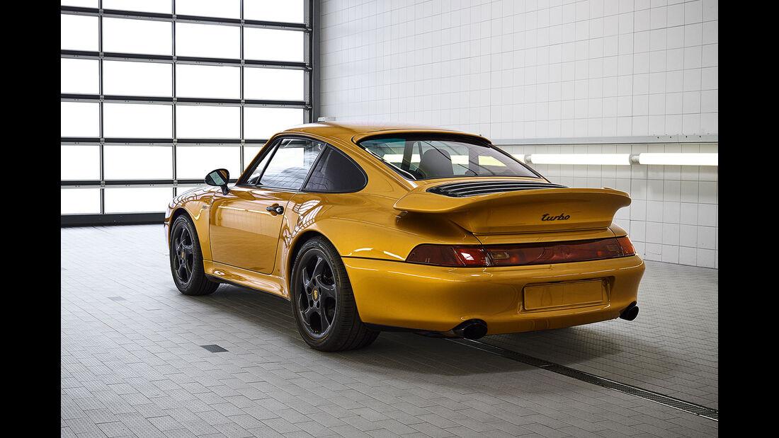 Porsche 911 Turbo 993 Project Gold