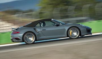 Porsche 911 Turbo Cabrio - Sportwagen - Test