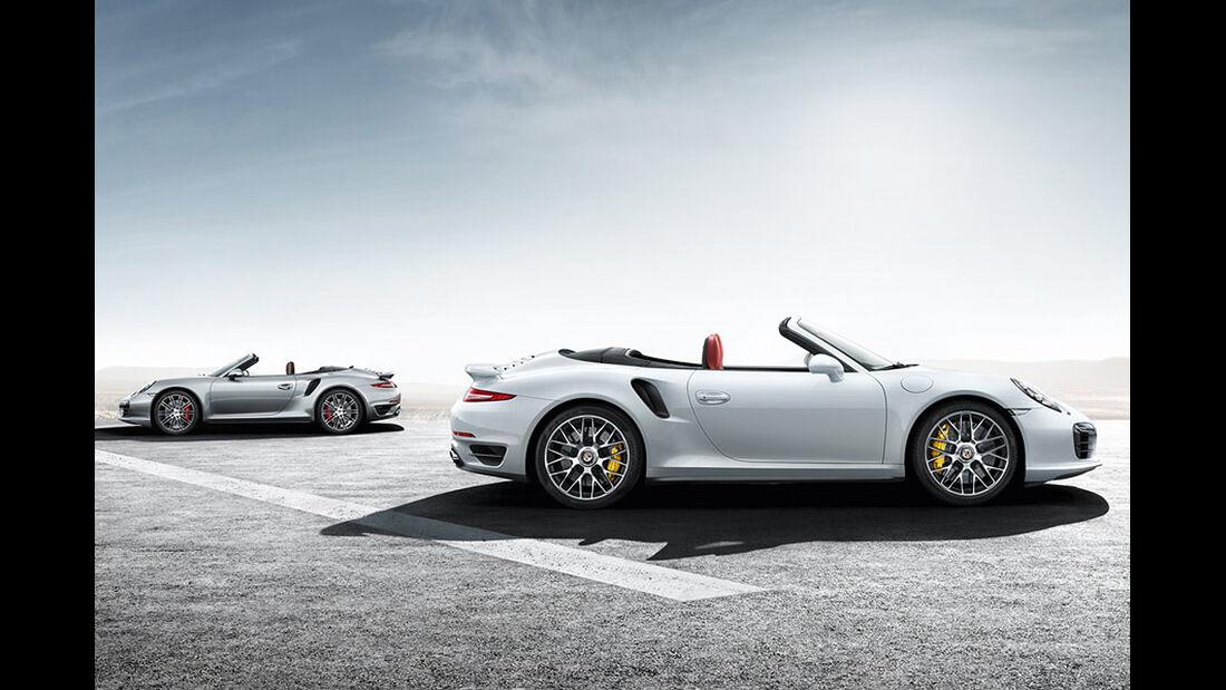 Porsche 911 Turbo Cabrio + Turbo S