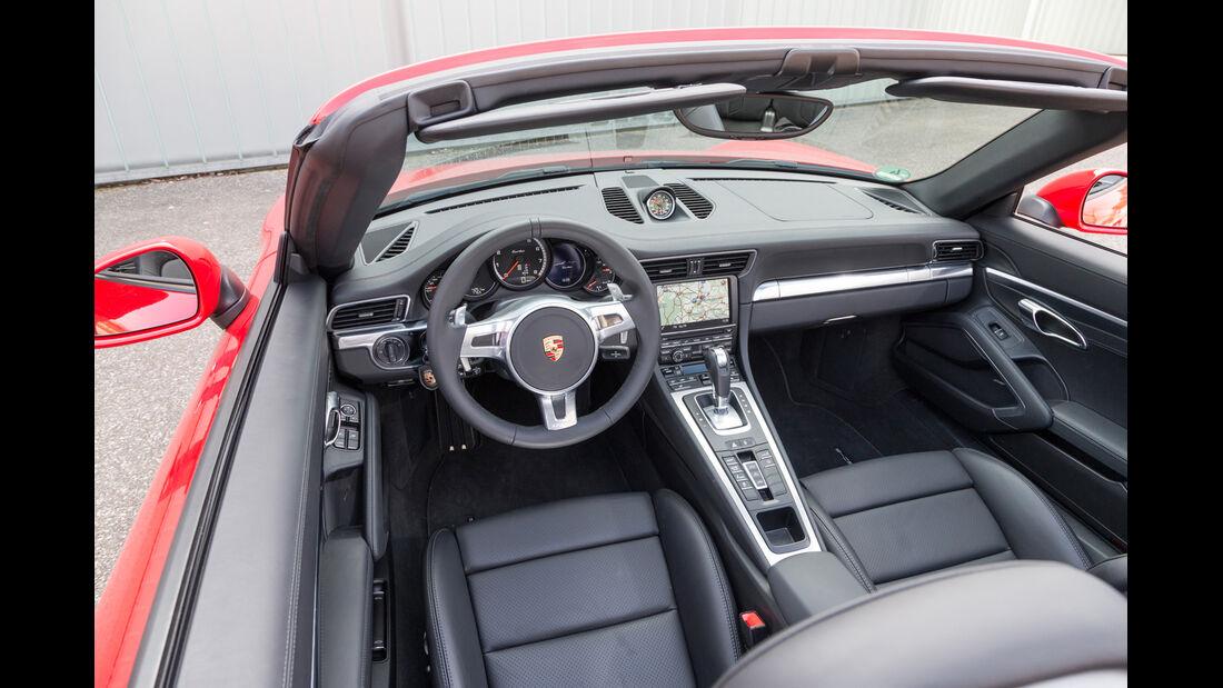 Porsche 911 Turbo Cabriolet, Cockpit