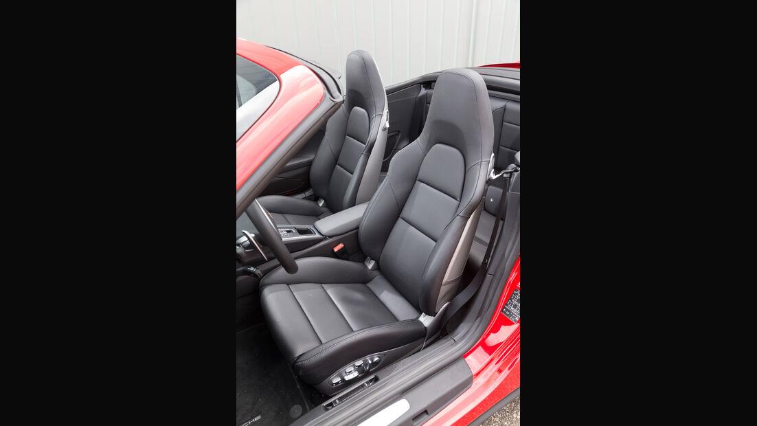 Porsche 911 Turbo Cabriolet, Fahrersitz